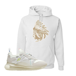Air Max 720 OBJ Slip White Hoodie | White, Indian Chief