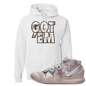 Nike Kybrid S2 What The Inline Pullover Hoodie | Got Em, White