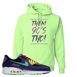 Air Max 90 Cheetah Hoodie | Them 90's Tho, Neon Green