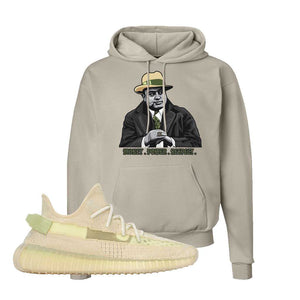 Yeezy 350 v2 Sulfur Hoodie | Sand, Capone Illustration