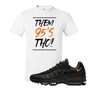Air Max 95 Ultra Spooky Halloween T Shirt | Them 95's Tho, White