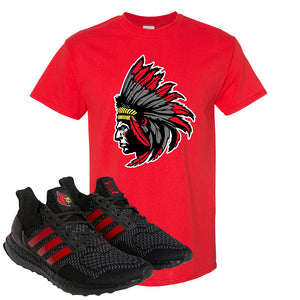 Ultra Boost 1.0 Louisville T Shirt | Indian Chief, Red