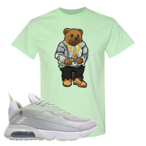 Air Max 2090 'Vast Gray' T Shirt | Mint Green, Sweater Bear