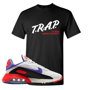 Air Max 2090 Evolution Of Icons T Shirt | Trap To Rise Above Poverty, Black
