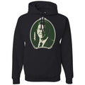Standard Issue Ronald Reagan Dollar Bill Black Pullover Grunt Life Hoodie