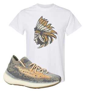Yeezy 380 Mist T Shirt | White, Indian Chief