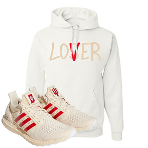 Adidas Ultra Boost 1.0 Indiana Pullover Hoodie | Lover, White