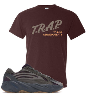 Yeezy Boost 700 Geode Sneaker Hook Up Trap Rise Above Russet T-Shirt