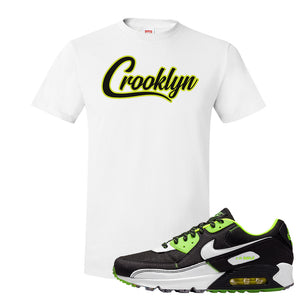 Air Max 90 Exeter Edition Black T Shirt | Crooklyn, White