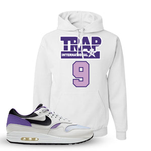 Air Max 1 DNA Series Sneaker White Pullover Hoodie | Hoodie to match Nike Air Max 1 DNA Series Shoes | Trap International