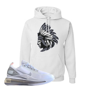 Air Max 720 Utility White Hoodie | White, Indian Chief