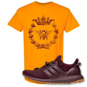 Royal Bee Leaf Tennessee T-Shirt to match Ivy Park X Adidas Ultra Boost Sneaker
