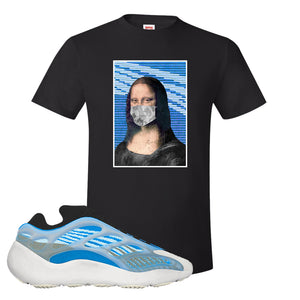 Yeezy 700 v3 Azareth T Shirt | Black, Mona Lisa Mask