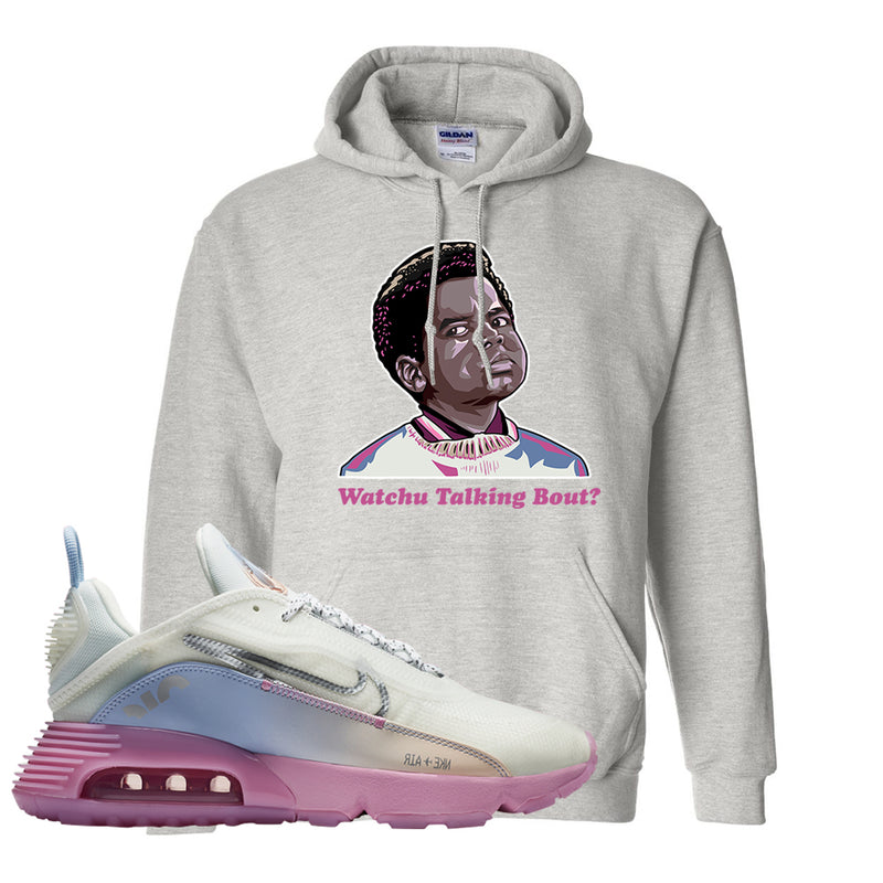 Air Max 2090 Airplane Travel Hoodie | Watchu Talking Bout, Ash