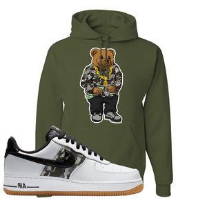 Air Force 1 Low Camo Hoodie | Sweater Bear, Fatigue Green