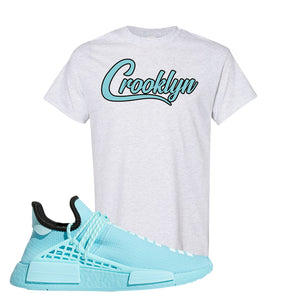 Pharell x NMD Hu Aqua T Shirt | Crooklyn, Ash