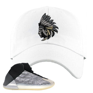 Yeezy Quantum Dad Hat | White, Indian Chief