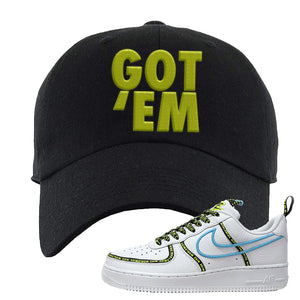 Air Force 1 '07 PRM 'Worldwide Pack' Dad Hat | Black, Got Em