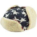 USA Stars and Stripes Flag Ushanka Aviator Eskimo Trapper Hat