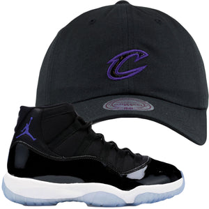 Jordan 11 Space Jams Sneaker Hook Up Cleveland Cavaliers Dad Hat