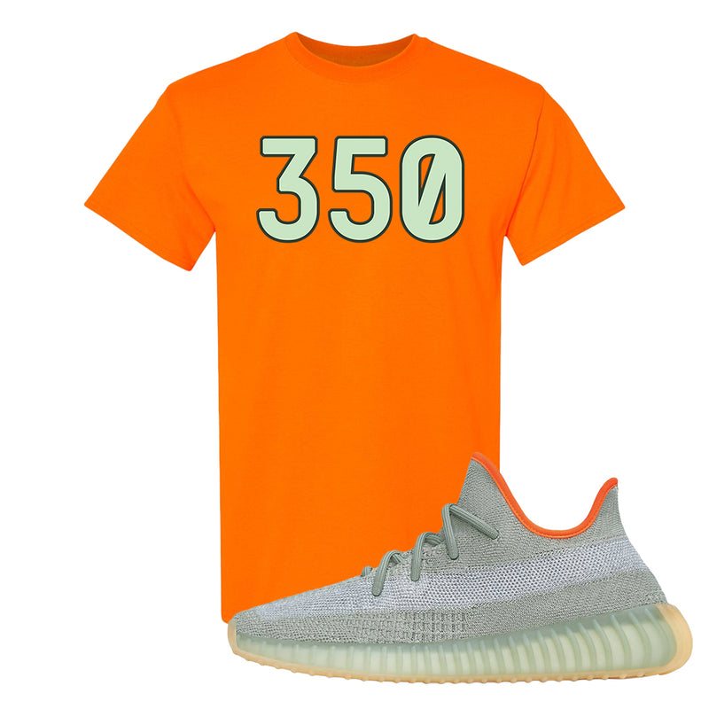 Yeezy 350 V2 Desert Sage T Shirt | Safety Orange, 350