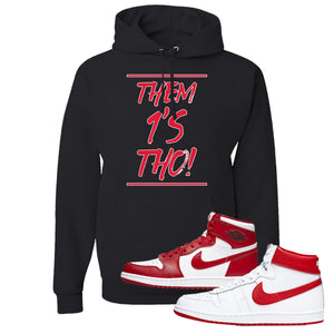 Jordan 1 New Beginnings Pack Sneaker Black Pullover Hoodie | Hoodie to match Nike Air Jordan 1 New Beginnings Pack Shoes | Them 1's Tho