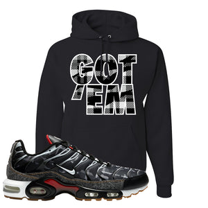 Air Max Plus Remix Pack Hoodie | Got Em, Black