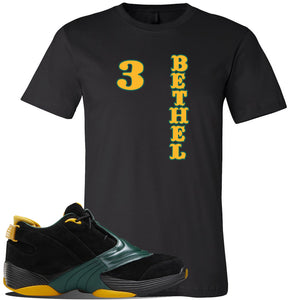 Answer 5 Bethel High Sneaker Black T Shirt | Tees to match Reebok Answer 5 Bethel High Shoes | Sweater Bear