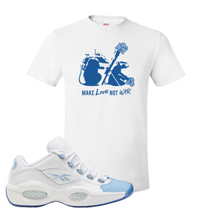 Question Low Carolina Blue T-Shirt | Army Rats, White
