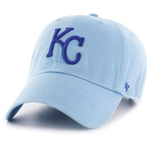 Kansas City Royals Light Blue Adjustable Baseball Cap