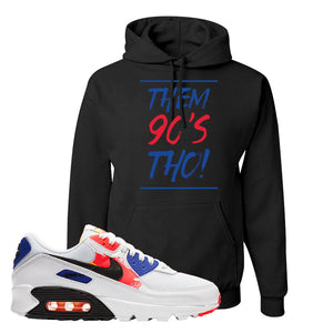 Air Max 90 Paint Streaks Hoodie | Them 90s Tho, Black