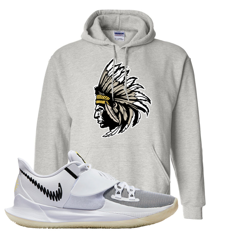 Kyrie Low 3 Hoodie | Ash, Indian Chief