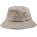 Khaki Flexift Strapless Stretch Bucket Hat