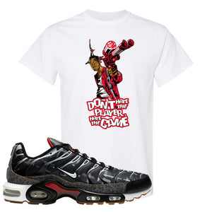 Air Max Plus Remix Pack T Shirt | Don't Hate The Playa, White