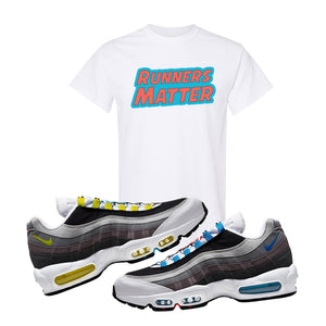 Air Max 95 QS Greedy T Shirt | White, Runners Matter