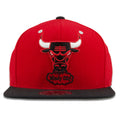 Chicago Bulls Hardwood Classic Windy City Mitchell and Ness High Crown Fitted Hat