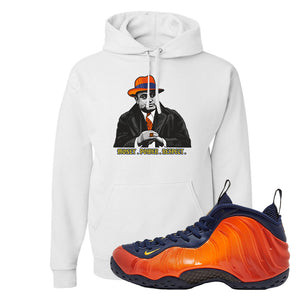 Foamposite One OKC Hoodie | White, Capone Illustration