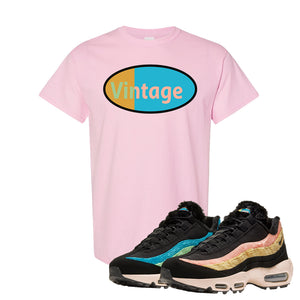 Air Max 95 Sergio Lozano T Shirt | Vintage Oval, Light Pink