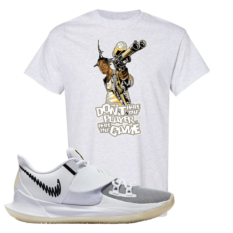 Kyrie Low 3 T Shirt | Ash, Don't Hate The Playa