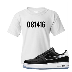 Colin Kaepernick X Air Force 1 Low 081416 White Sneaker Hook Up Kid's T-Shirt