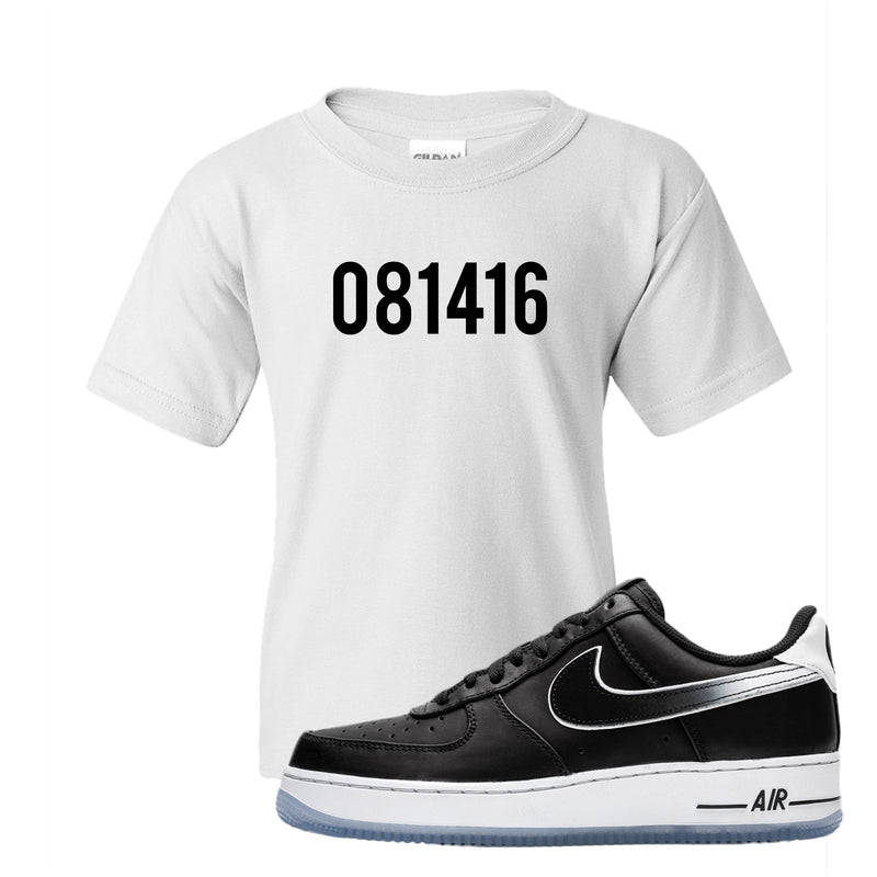 Colin Kaepernick X Air Force 1 Low Kid's T Shirt | White, 081416