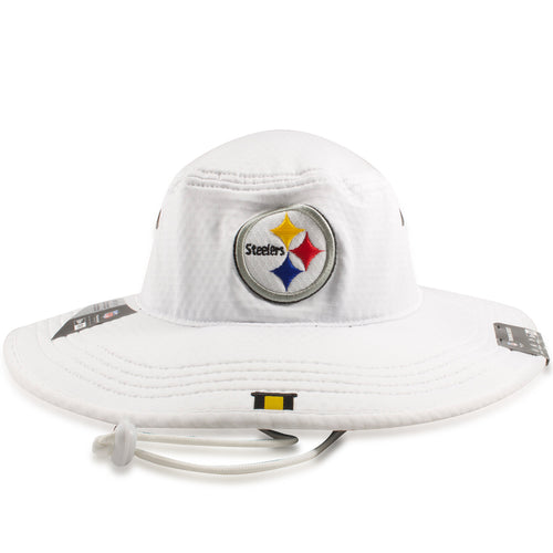 Pittsburgh Steelers 2019 Training Camp White Training Boonie Bucket Hat