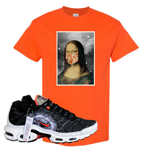 Air Max Plus Supernova 2020 T Shirt | Orange, Mona Lisa Mask