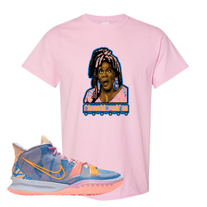 Kyrie 7 Expressions T-Shirt | Oh My Goodness, Light Pink