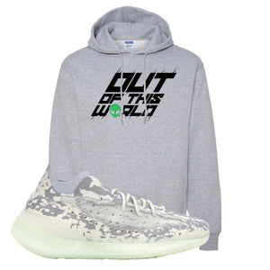 Yeezy 380 Alien Hoodie | Athletic Heather, Outta This World