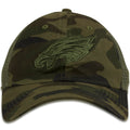 Philadelphia Eagles Camouflage Tonal 9Twenty Adjustable Mesh-Back Trucker Dad Hat