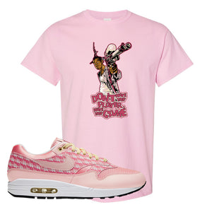 Air Max 1 Strawberry Lemonade T-Shirt | Dont Hate The Playa, Light Pink