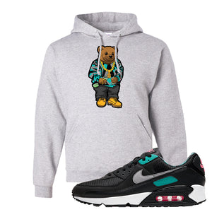 Air Max 90 Black New Green Hoodie | Sweater Bear, Ash
