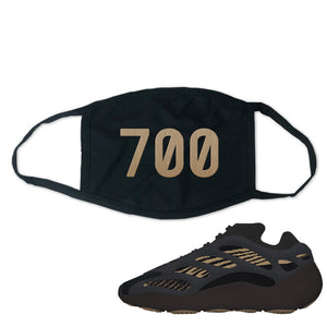 Yeezy 700 v3 Eremial Face Mask | 700, Black