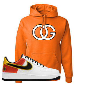 Air Force 1 Low Roswell Rayguns Hoodie | OG, Orange